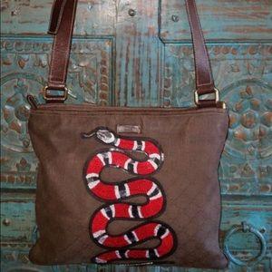 Gucci Supreme Snake Crossbody purse
